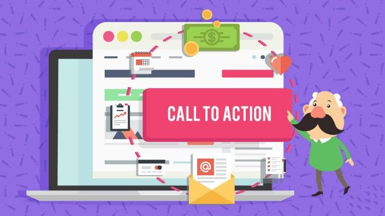 Call toAction musi rzucać się woczy ibyć ładne