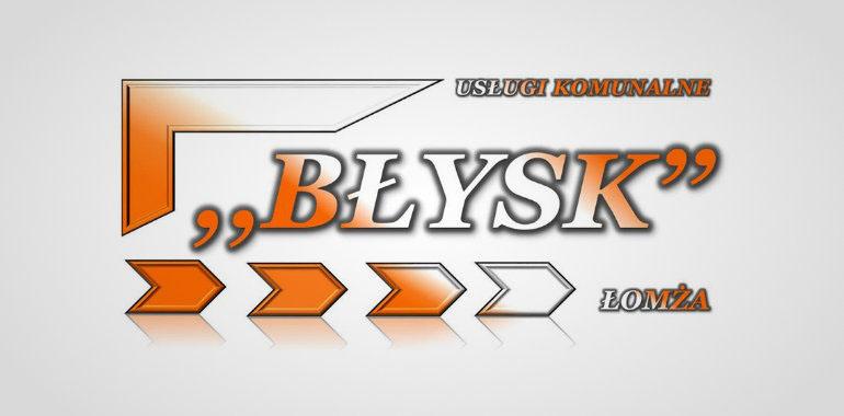 Stare logo firmy Błysk