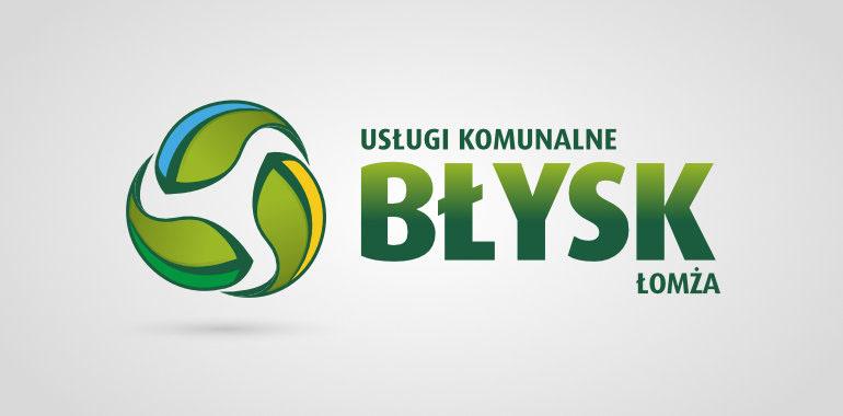 Nowe logo firmy Błysk