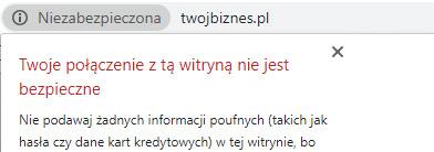 Strona bezSSL