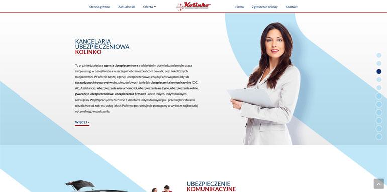 Nowa strona firmy Kolinko