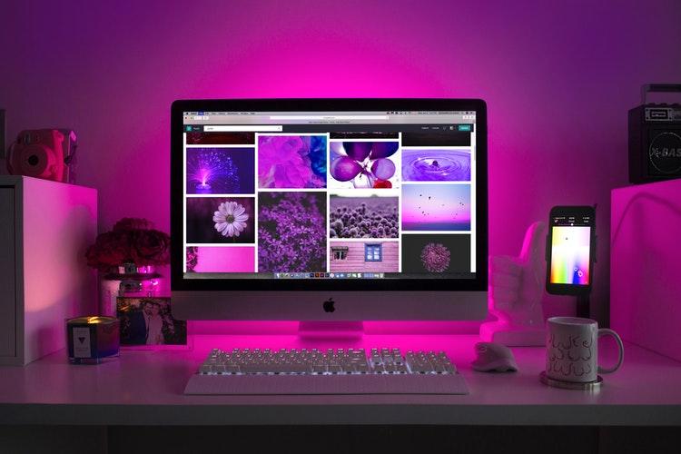 Wyszukiwanie według kolorów w Adobe Stock